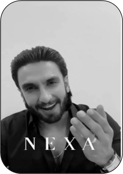 Ranveer Singh congratulates Nexa for 5th anniversary