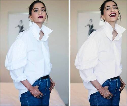 Sonam Kapoor organize a fun game