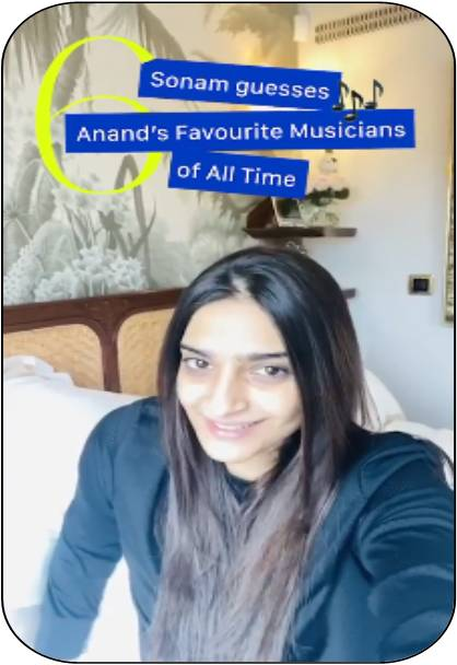 Six Days left for Anand's Birthday: Sonam Kapoor
