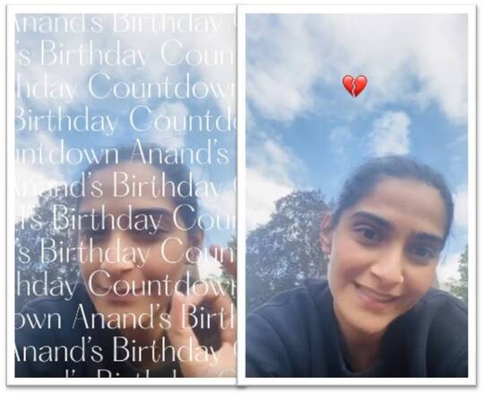 Sonam starts the countdown of Anand's birthday