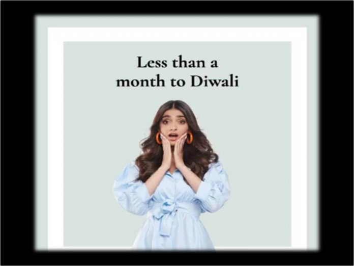 less than a month to diwali