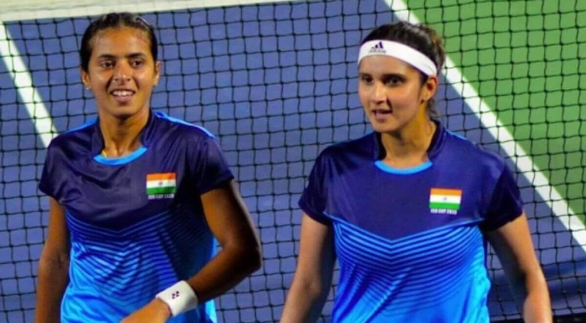 Tokyo 2020: India's women doubles tennis athletes leave for the Olympics